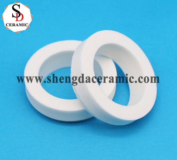 Industrial Precision ZrO2 Zirconia Ceramic Ring