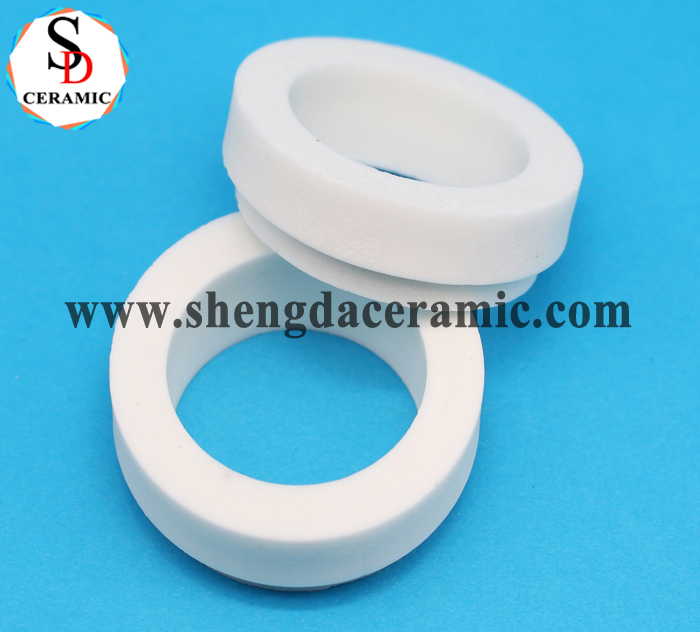 Thermal Insulation Alumina Corundum Ceramic Ring Insulator