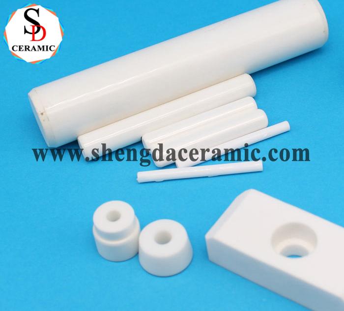 Customized Heat Resistance Alumina Zirconia Ceramic Pump Plungers