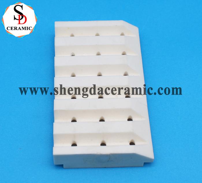 Custom High Heat Resistant 99% Alumina Ceramic Parts