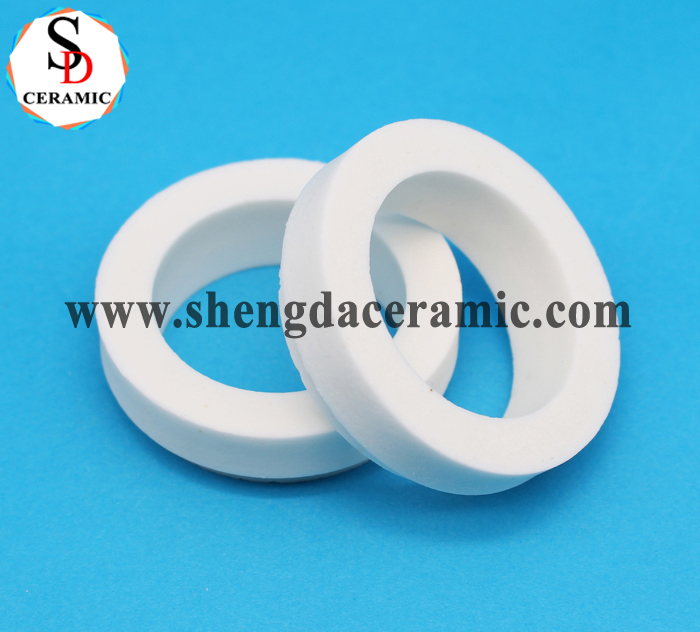 Industrial Precision ZrO2 Zirconia Ceramic Ring