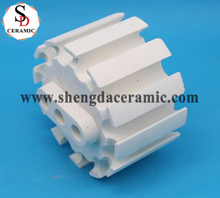 Custom Electric Radiators Precision Steatite Ceramic Insulator