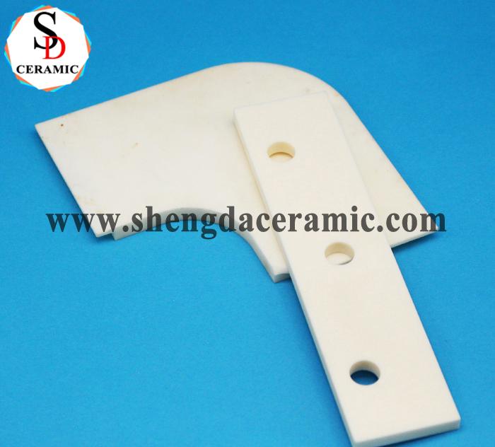 Precision CNC Alumina Ceramic Setter Flat Plate