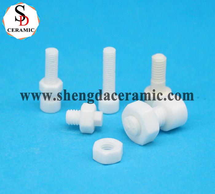 Zirconia Ceramic Screw Nuts