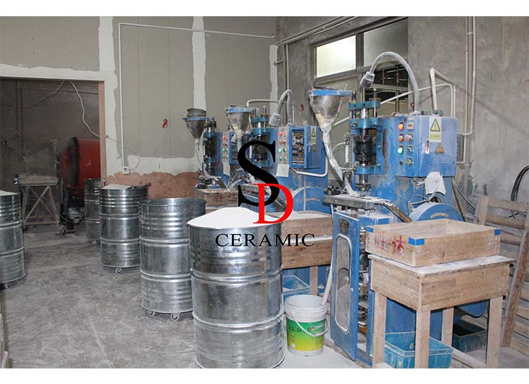 6Ton Automatic Dry Pressing Machine
