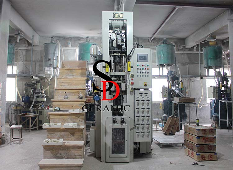25Ton Automatic Dry Pressing Machine-2