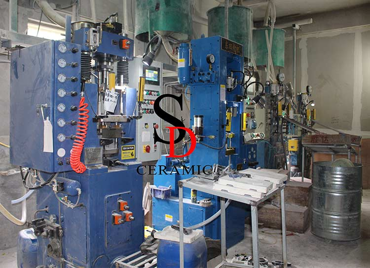 Automatic Dry Pressing Machines