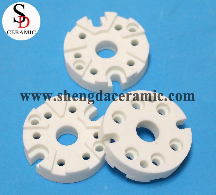 C221 Steatite Ceramic Thermocouple Plates