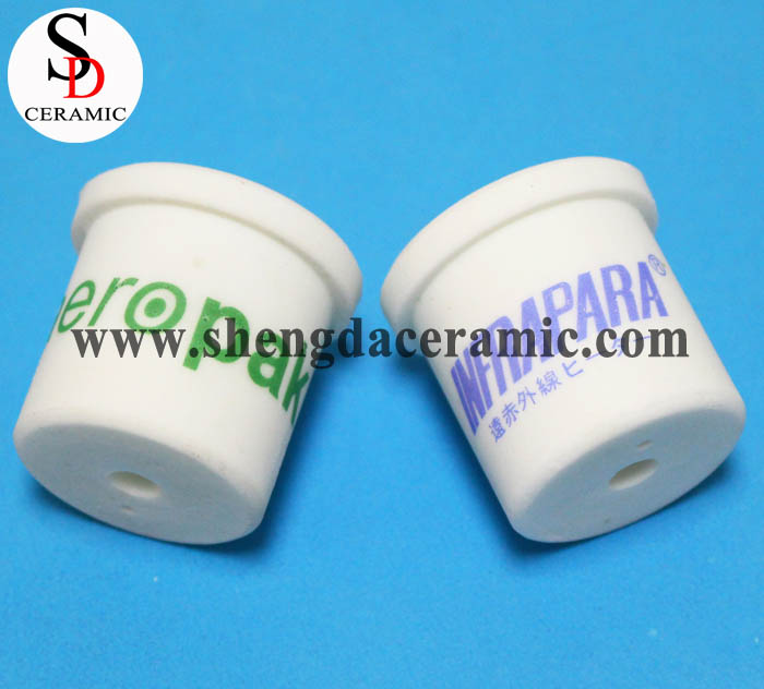 Customize Steatite Ceramic Quartz Tube End Caps