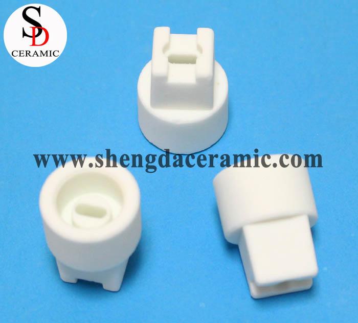 Quartz Tube Steatite Ceramic Electrical Insulator