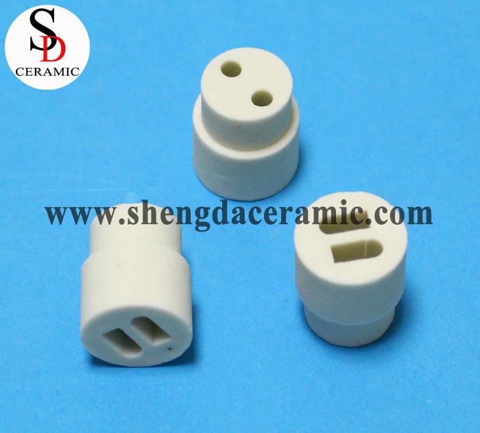Two Holes Steatite Ceramic Insulation Beads