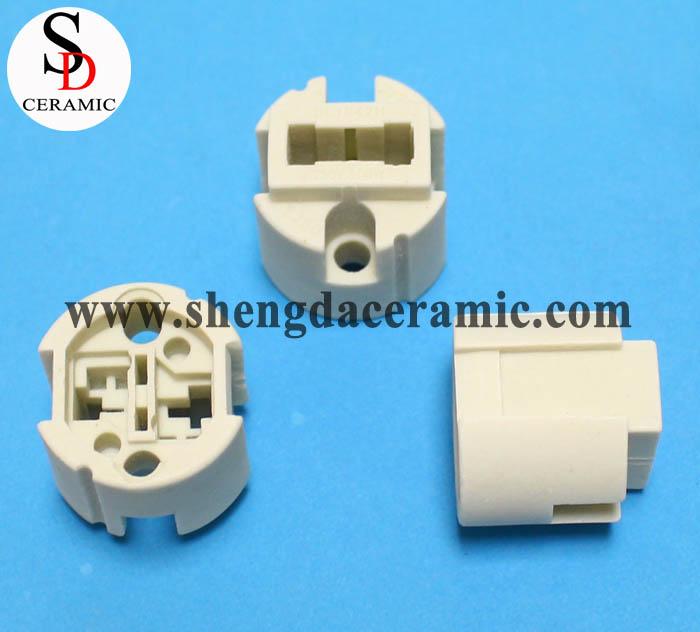 C221 Steatite Ceramic Lamp Holder Insulator