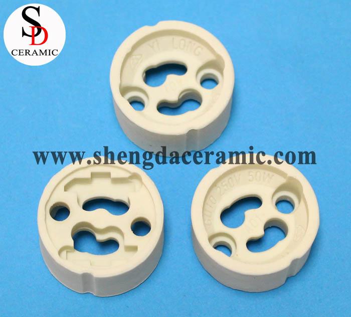 GU10 Steatite Ceramic Lamp Holder