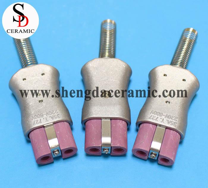 High Temperature Ceramic Electrical Plug Electric Heater Plug