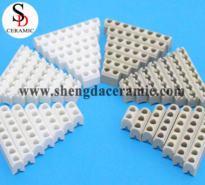 White Or Beige Color Steatite Ceramic Insulator