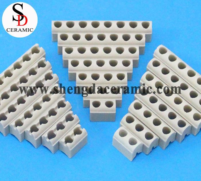 Beige Color Ceramic Band Heater Insulator Strip