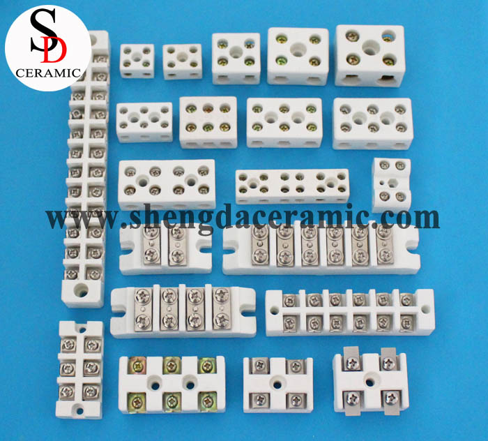 High Temperature Insulator Ceramic Terminal Blocks