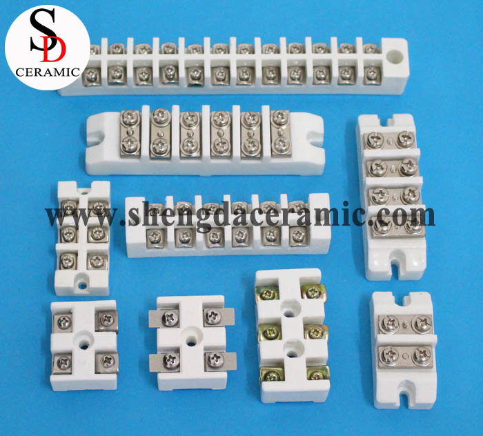 External Connect Type High Temperature Ceramic Terminal Blocks