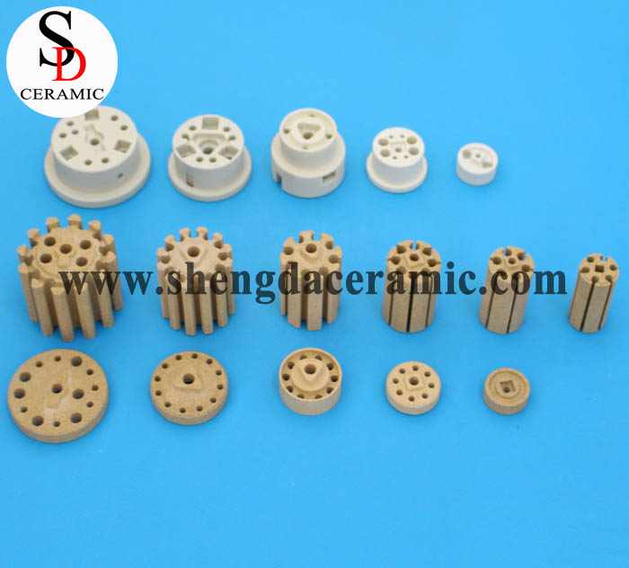 Cordierite Ceramic Insulator for Bobbin Heater