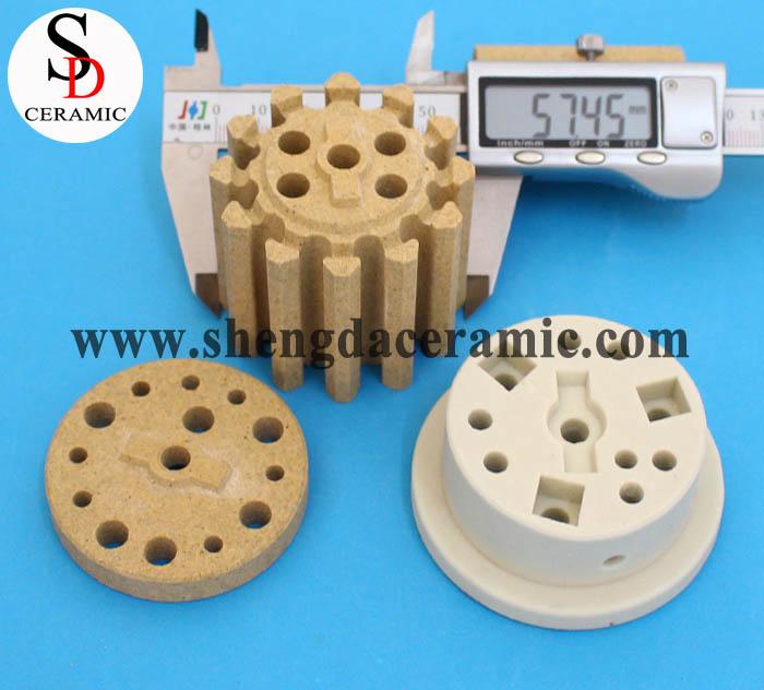 Cordierite Ceramic Insulator for Bobbin Heater