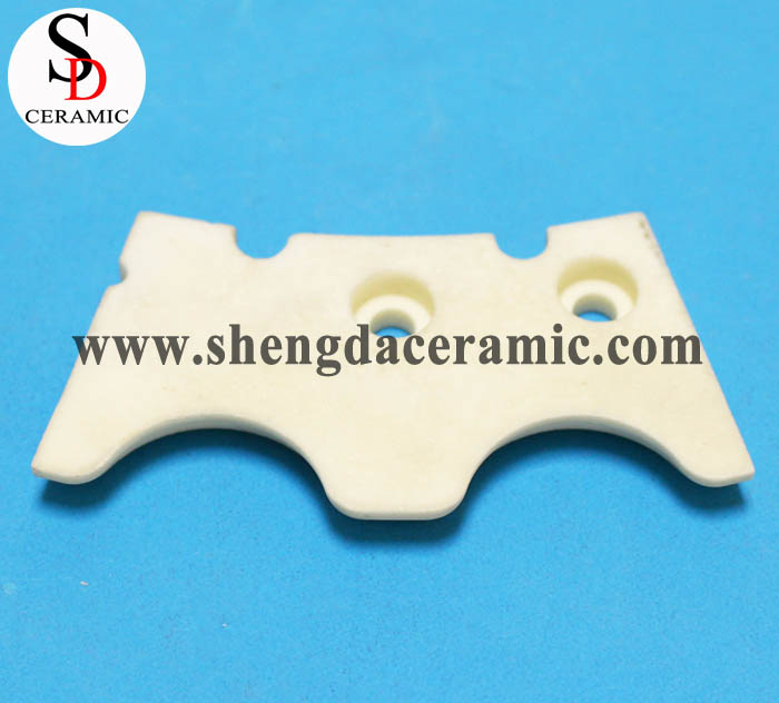 99% Alumina Ceramic Trident Shape Ceramic Part
