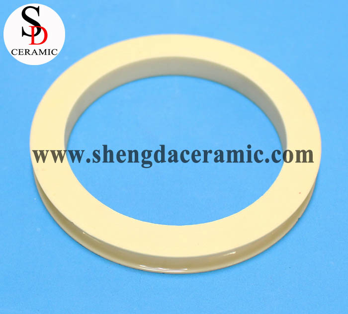High Wear Resistance 99% Alumina Ceramic Ring