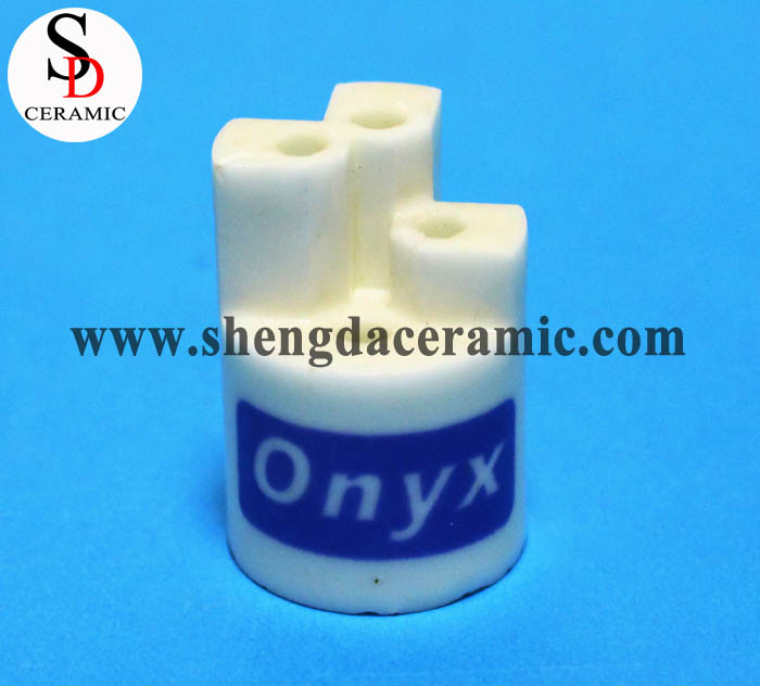 Glazed Alumina Ceramic Insulator Parts for Lamp Holder