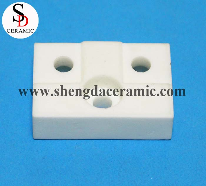Electrical Ceramic Terminal Block Connector Insulator