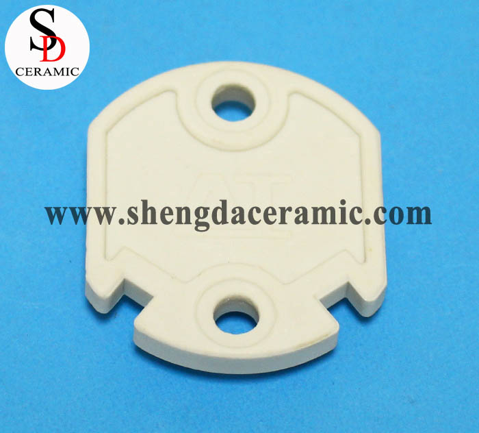 OEM Service Fish Shape Beige Steatite Ceramic Parts
