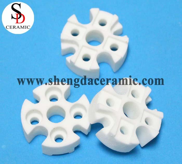 High Resistance Steatite Ceramic Thermocouple Plates