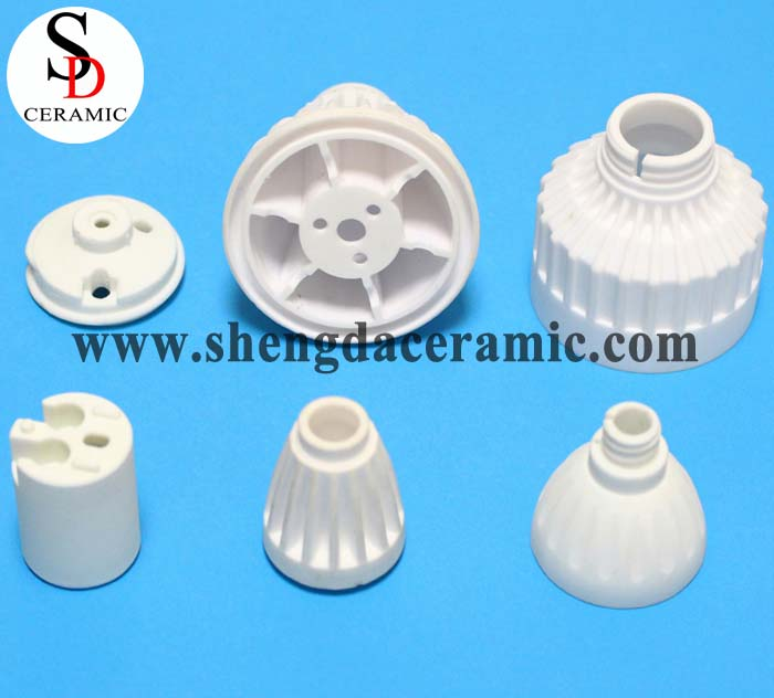 Heating Dissipation Fine Ceramic Base For Lamp