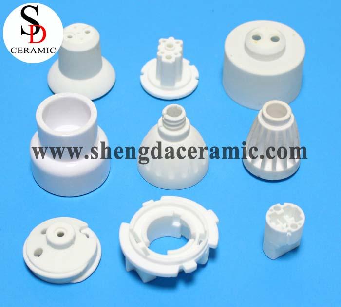 Alumina Ceramic Lamp Base Ceramic Lamp Holder