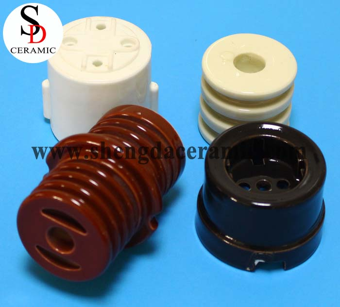 Ceramic Manufacturer Industrial Electrical Ceramic Insulate Parts
