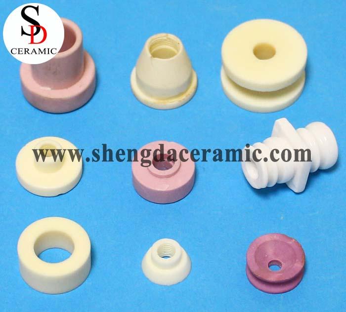 High Voltage Resistance 99% Alumina Ceramics Part