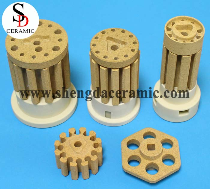 Cordierite Ceramic Insulator For Thermocouple Elements
