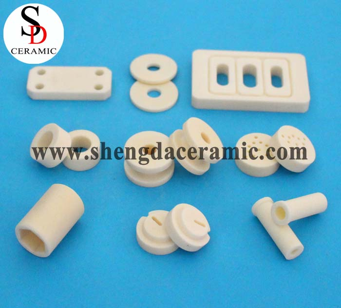 High Precision White Insulating 95% Alumina Ceramic Shim