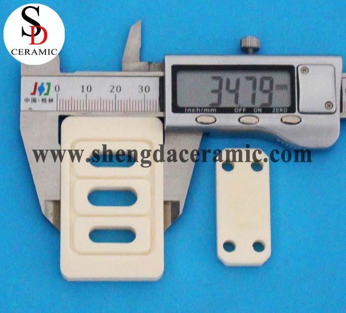 High Purity Insulating Wear Resistance 99% Alumina Ceramic Shim