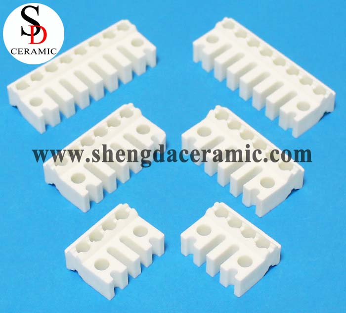 Steatite Ceramic Strip For Band Heater with Cooling Tooth