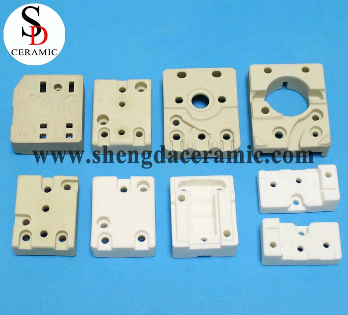 White or Beige Ceramic Base for Thermostat