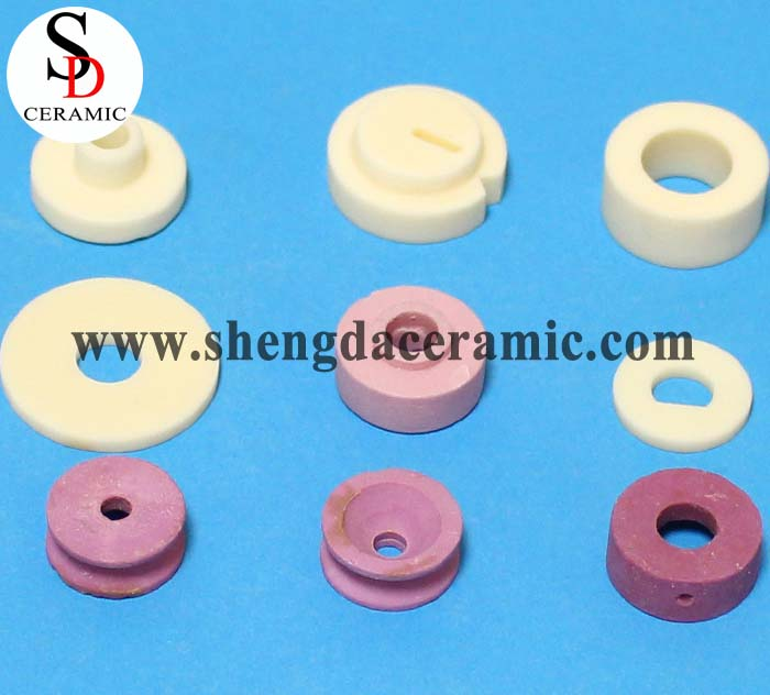 Customized Heat Resistant Alumina Ceramic Spacer