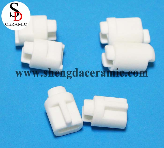 High Frequency Quartz Tube Ceramic Cover Steatite Ceramic Cap