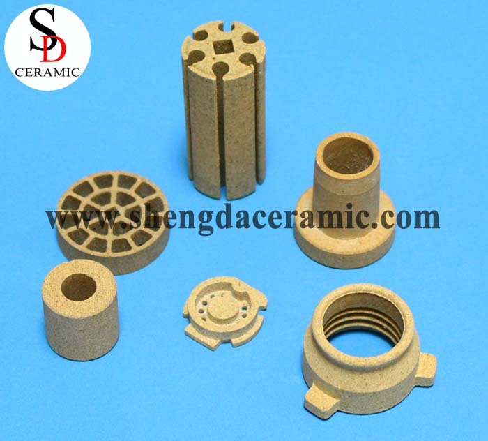 C520 Cordierite Ceramic Customized Parts