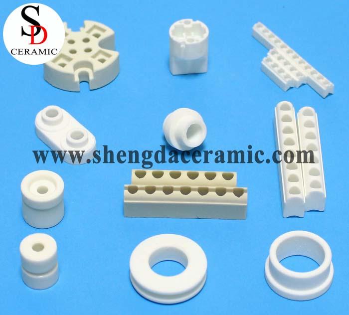 Customized Electrical Ceramic Insulators for Quartz Tube