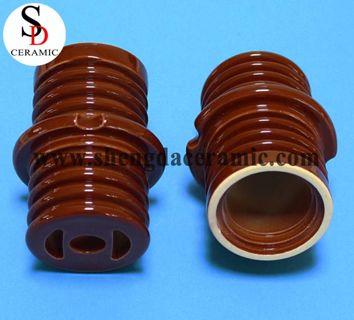 Glazed Ceramic of Tubular Heating Element Finned for Railway Industry