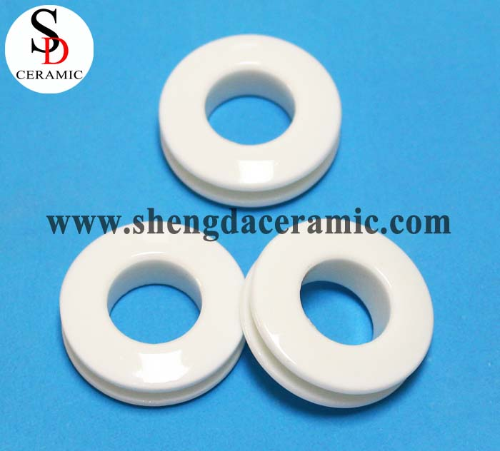 High Temperature Resistance Steatite Ceramic Ring Parts