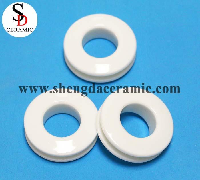 High Temperature Resistance Steatite Ceramic Ring Parts