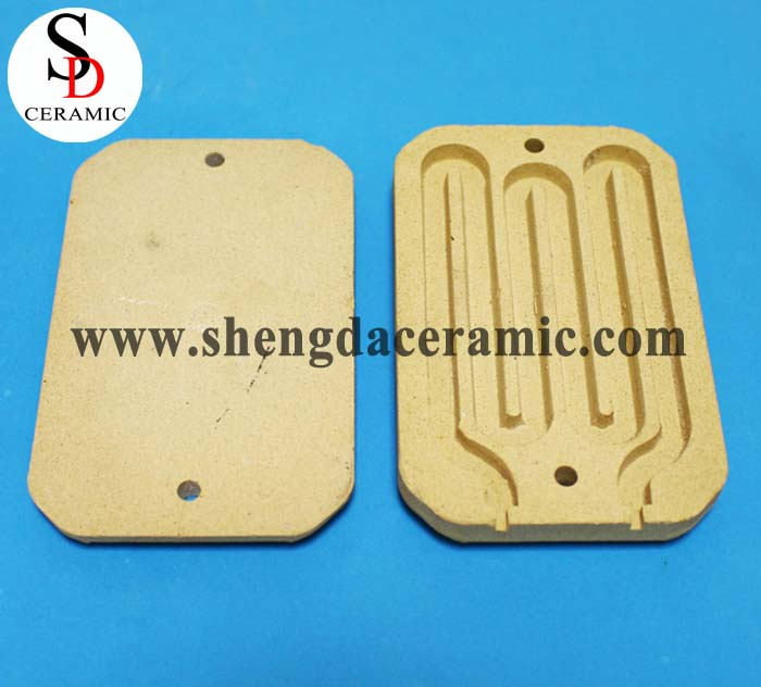 Electrical Cordierite Ceramic Standoff Insulators
