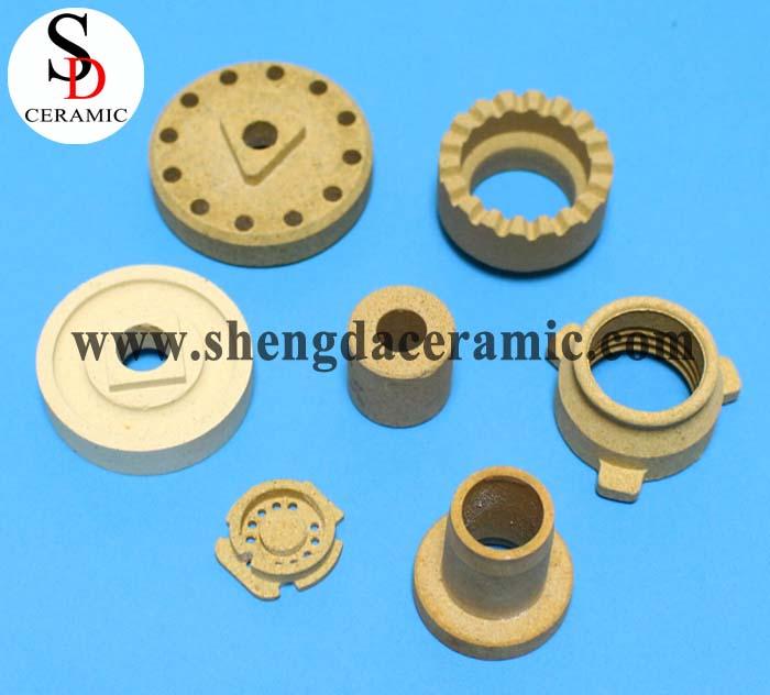 Electrical Cordierite Ceramic Standoff Insulators