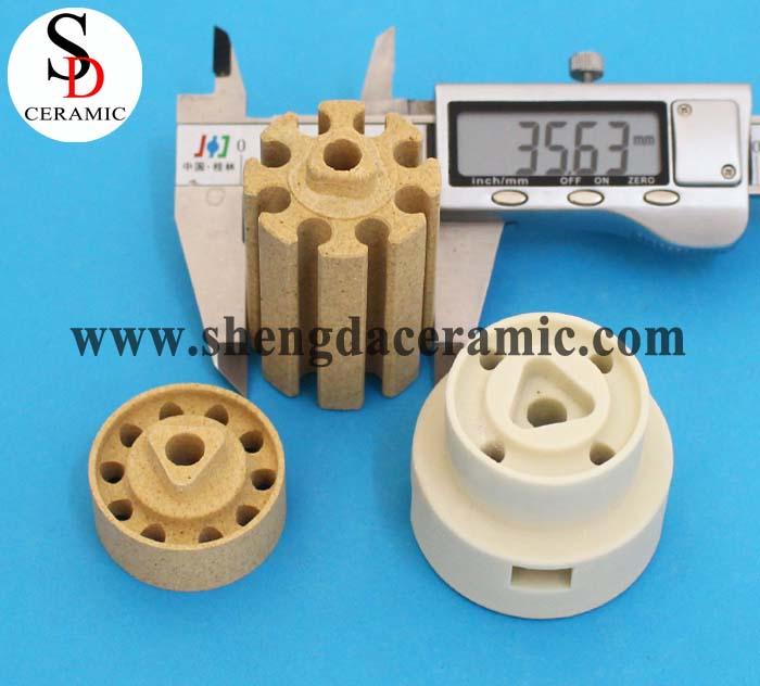 OD 35mm Cordierite Ceramic Insulator for Bobbin Heater