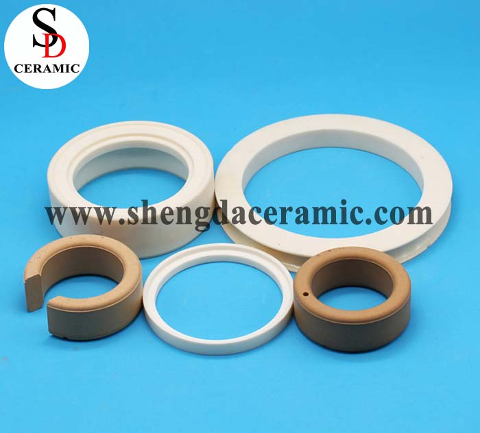 Customize High Temperature Resistance Alumina Ceramic Ring Factory